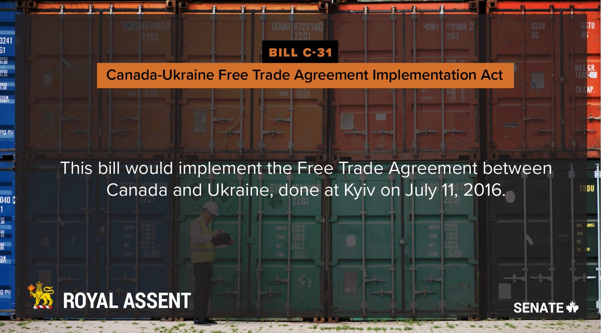 Andriy Shevchenko On Twitter Canada Ukraine Free Trade Agreement