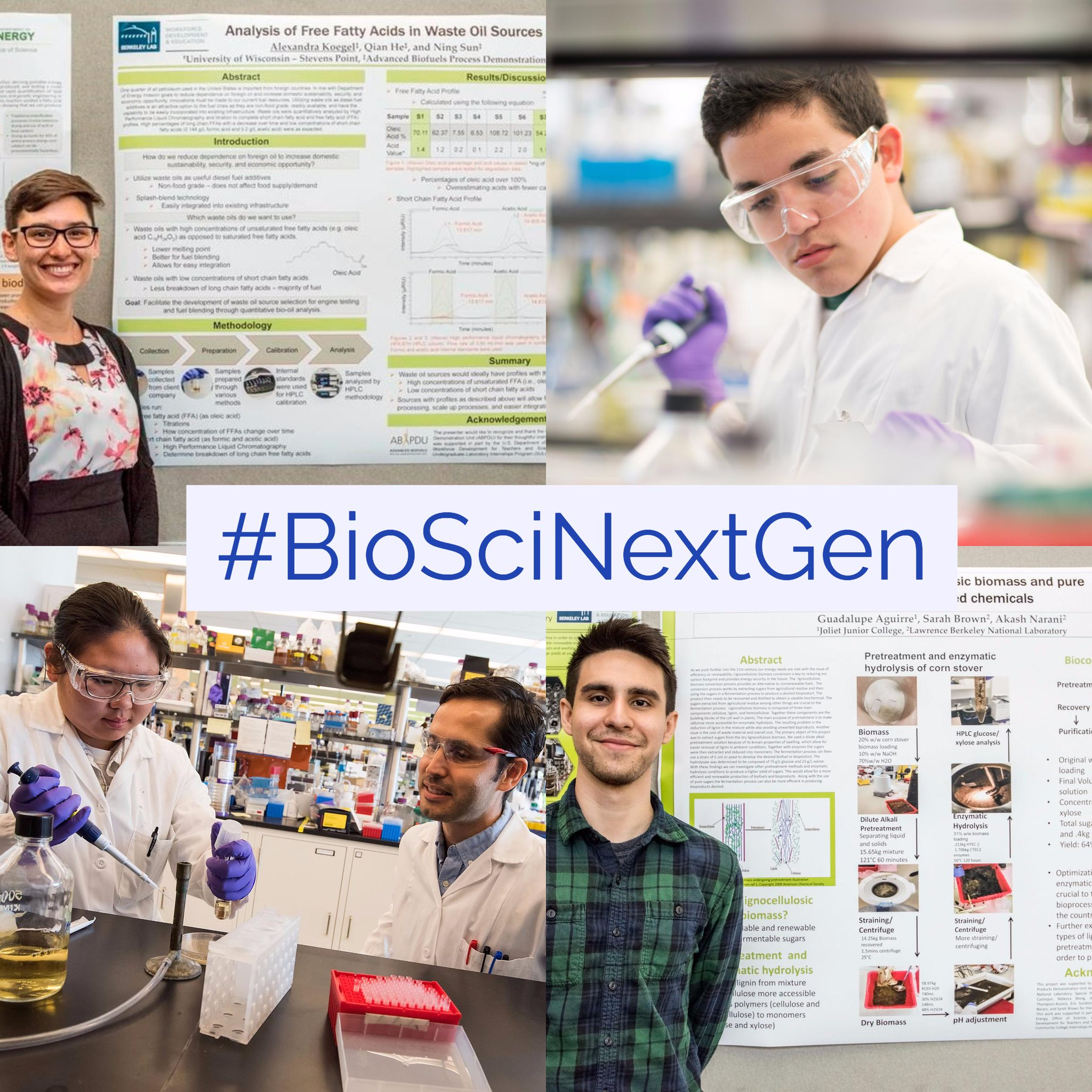 We are celebrating #STEMEducation @LBNLBioSci this month! Please like and RT our #BioSciNextGen tweets! https://t.co/YjfVDsY7xo