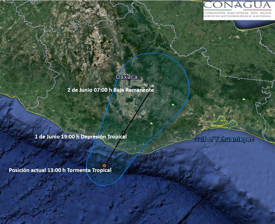Tormenta tropical Beatriz deja siete muertos en Oaxaca