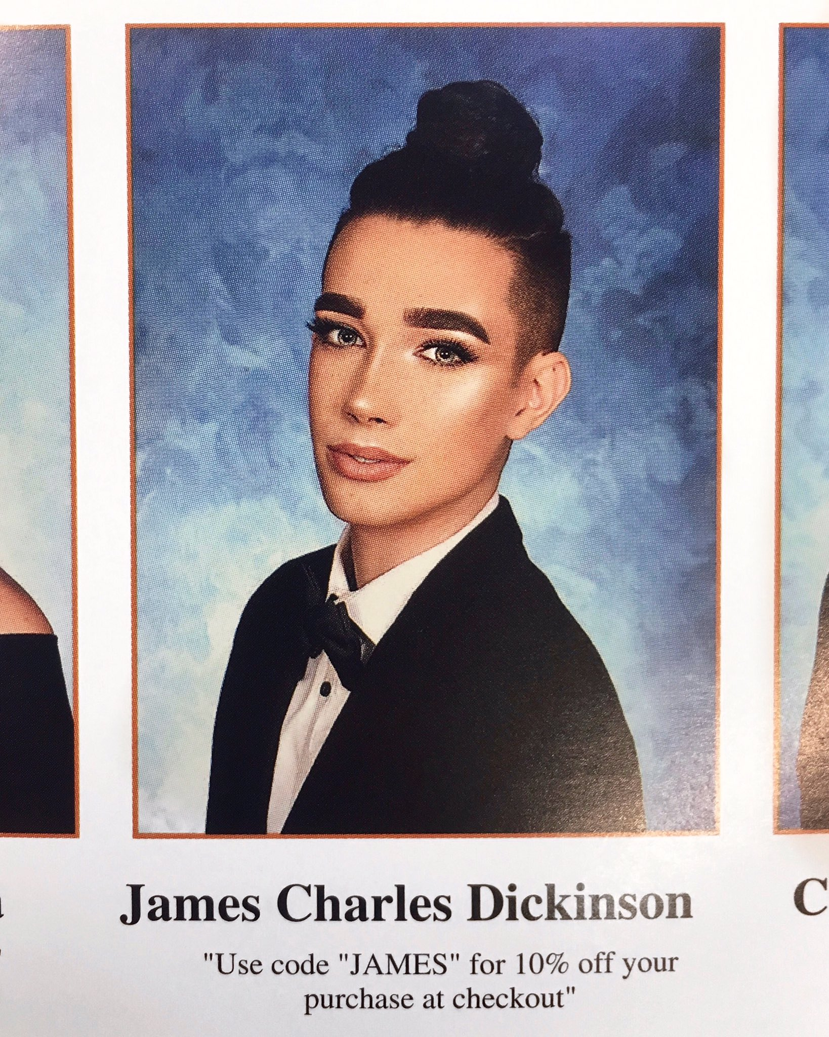 """James Charles Makeup: James Charles On Twitter: """"senior Yearbooks Finally Came"""