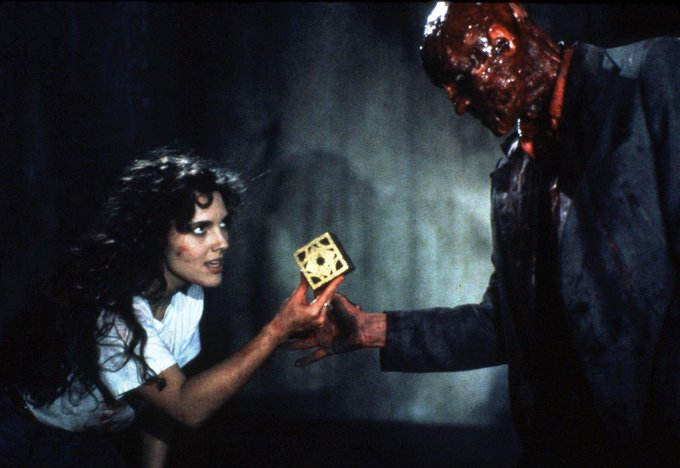 Belated happy birthday to Hellraiser heroine Ashley Laurence!
