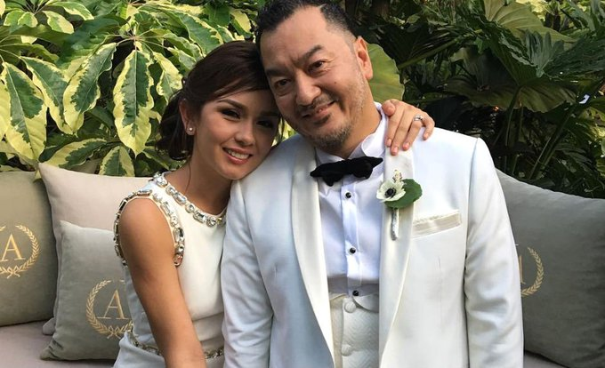 IN PHOTOS: Beauty Gonzalez, Norman Crisologo's Tagaytay wedding
