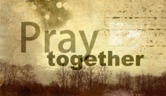 Strengthen your prayer by praying with another person. Let the unity of prayer magnify your voice