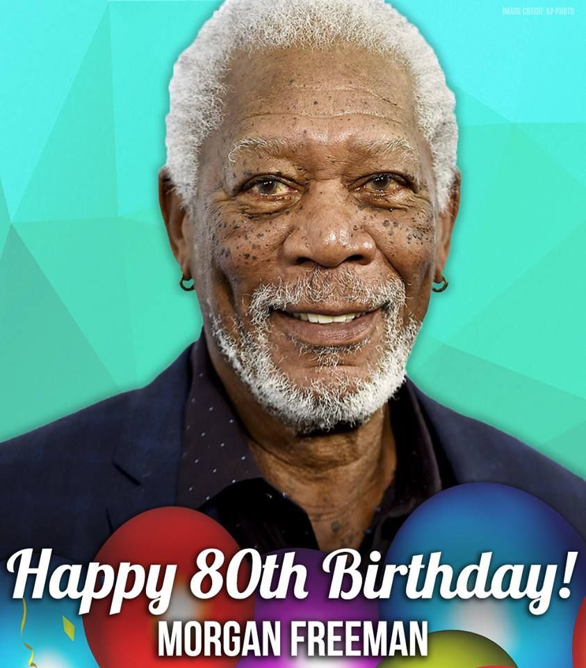 On this day in 1937, Morgan Freeman was born in Memphis!  Can you believe he's turning 80?!