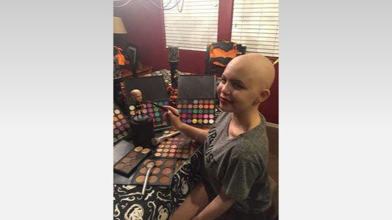 Cancer survivor used makeup to fight through