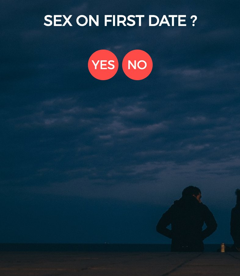 Sex on the first date yes or no