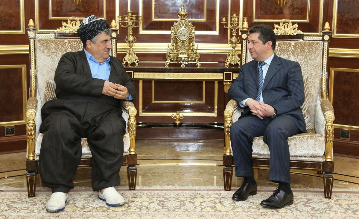 Today I met Kak Mohammed Haji Mahmoud, Secretary General of the Kurdistan Socialist Democratic Party, to discuss recent developments.