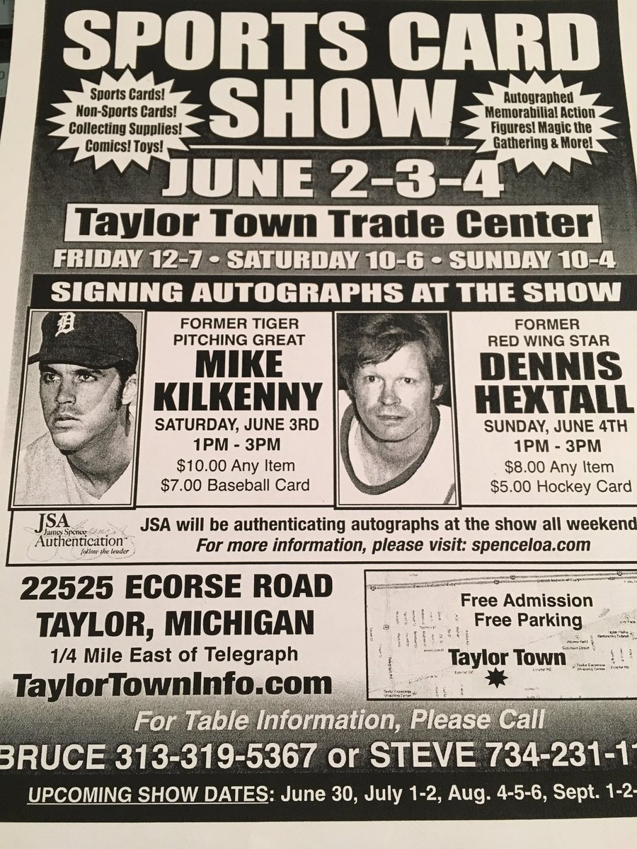 Taylor Town Trade On Twitter Sports Sports Card Fleamarket