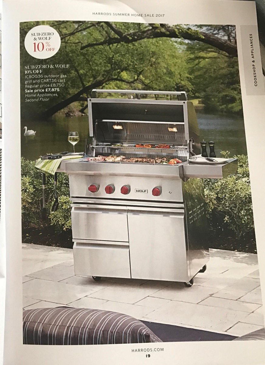 Uncategorized Harrods Kitchen Appliances craig davies on twitter harrods summer sale catalog is out featuring the new wolf bbq subzerowolfuk httpst coek6vblb1t