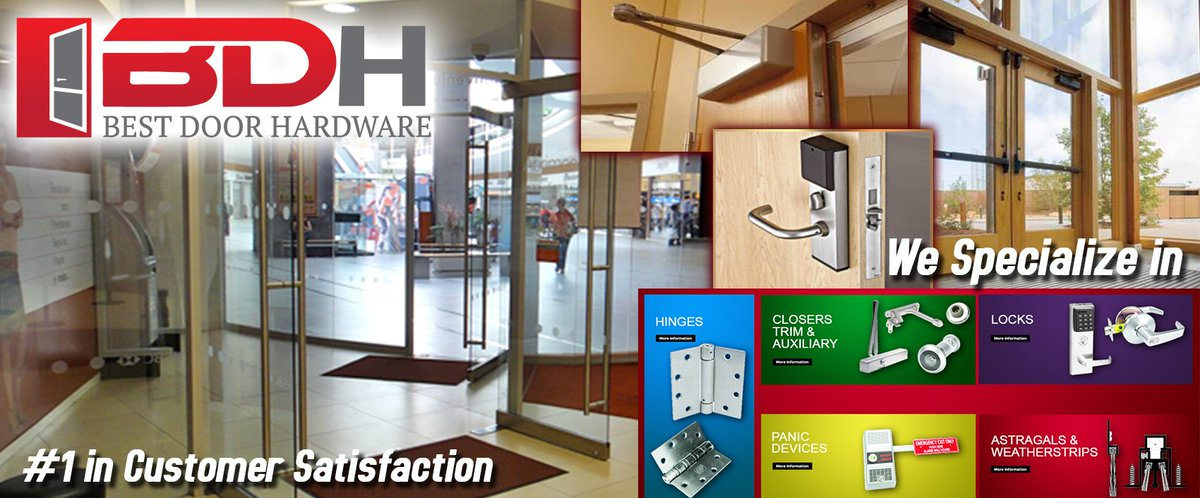 commercialdoorhardware hashtag on Twitter