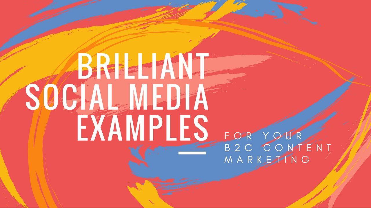 Canva On Twitter 10 Brilliant Social Media Examples For Your B2c Content Marketing Https T Co Rq13xemgi0