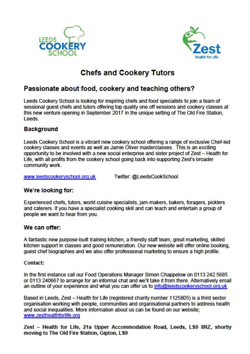 Leeds Cookery School on Twitter: \