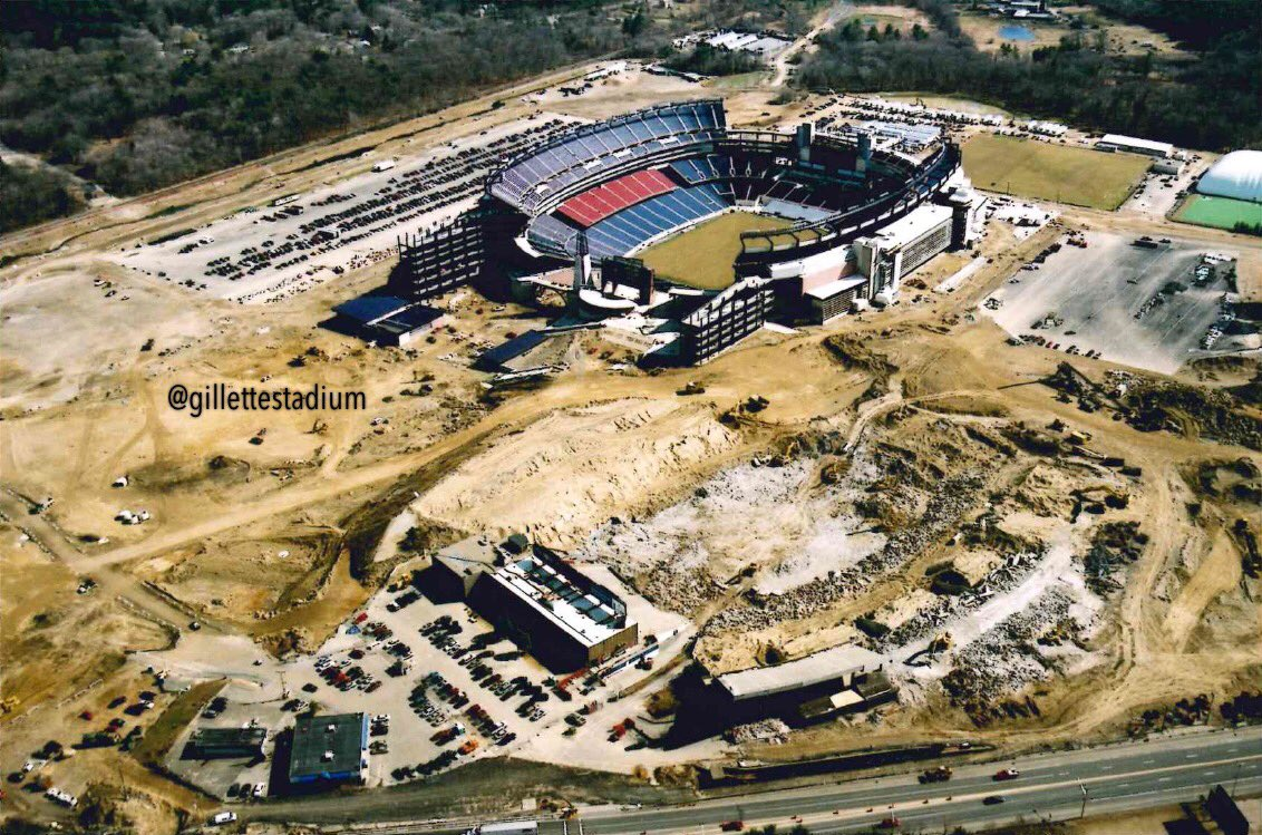 Foxboro Stadium demolished
