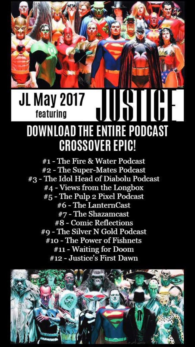 Just finished #JLM2017 podcast crossover extravaganza. Great job all! @lanterncast @theshazamcast @ComicReflection @SNGPOD4779 @ryandaly01<br>http://pic.twitter.com/HcsGp5LO6e
