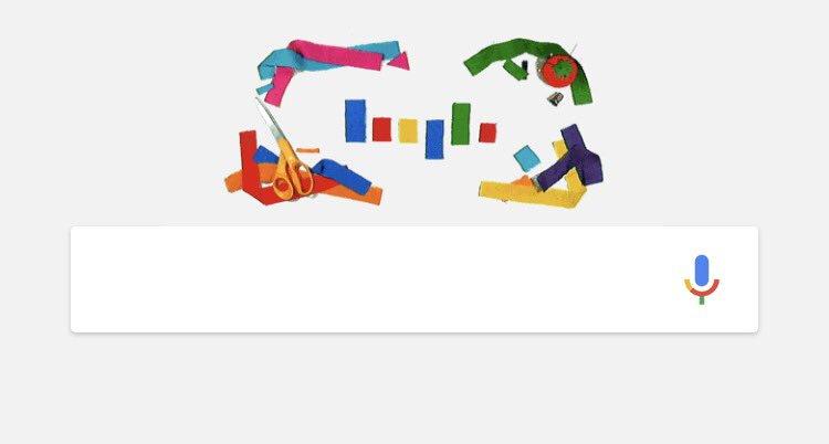 오늘 구글두들은 성소수자의 상징이 된 무지개 깃발을 만든 길버트 베이커의 66번째 생일 기념. 그러나 그는 올해 3월 세상을 떠났지요. https://t.co/LpMjGOFBuI