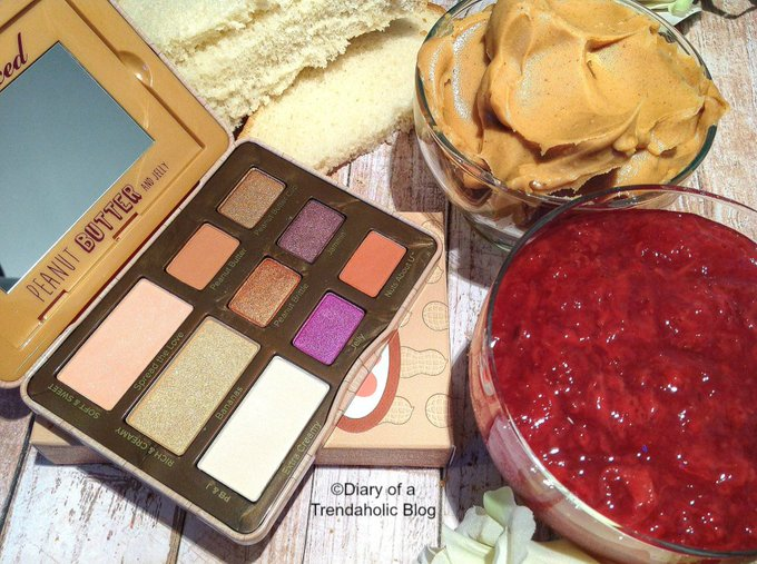Too Faced Peanut Butter and Jelly Eye Shadow Palette Review