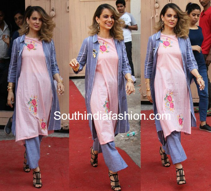 Kangana Ranaut's summer style • South India Fashion