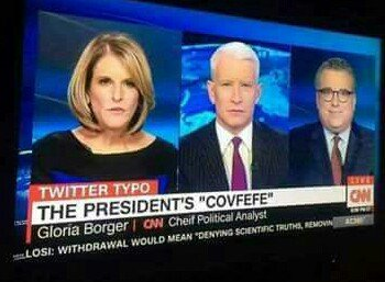 """.@CNN incorrectly spells """"chief"""" in a segment making fun of Trump's spelling."""