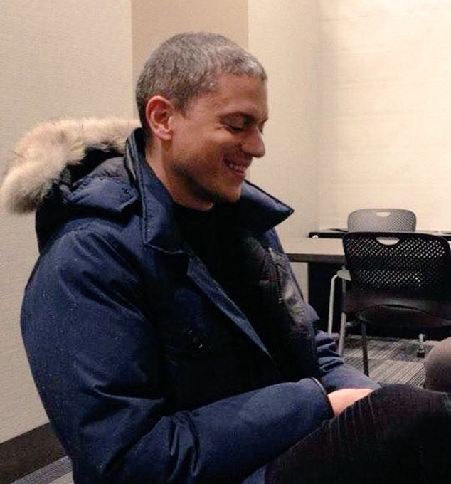Happy birthday to this amazing,beautiful talented human being wentworth Miller
