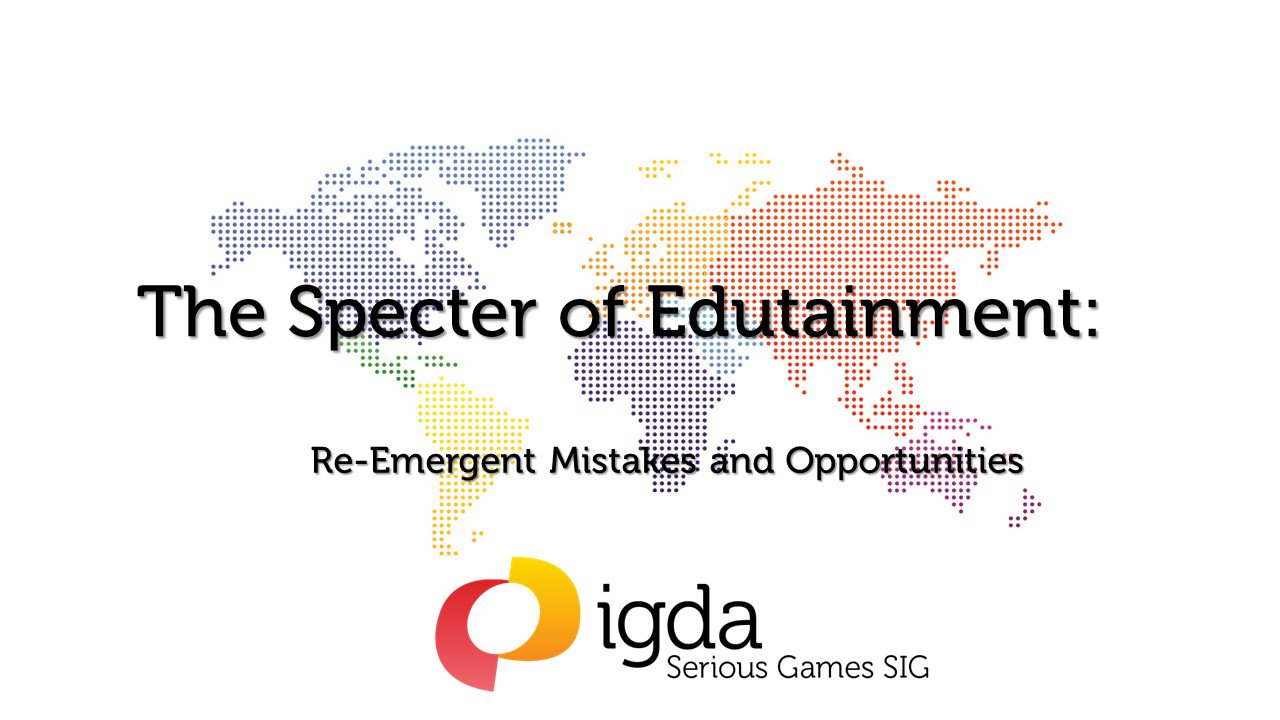 My slides. In sum: educational games work when they are unique #learning #experiences, not merely apps! #olcwELD https://t.co/9wnj7FOLd0 https://t.co/6v0DW6bf0g