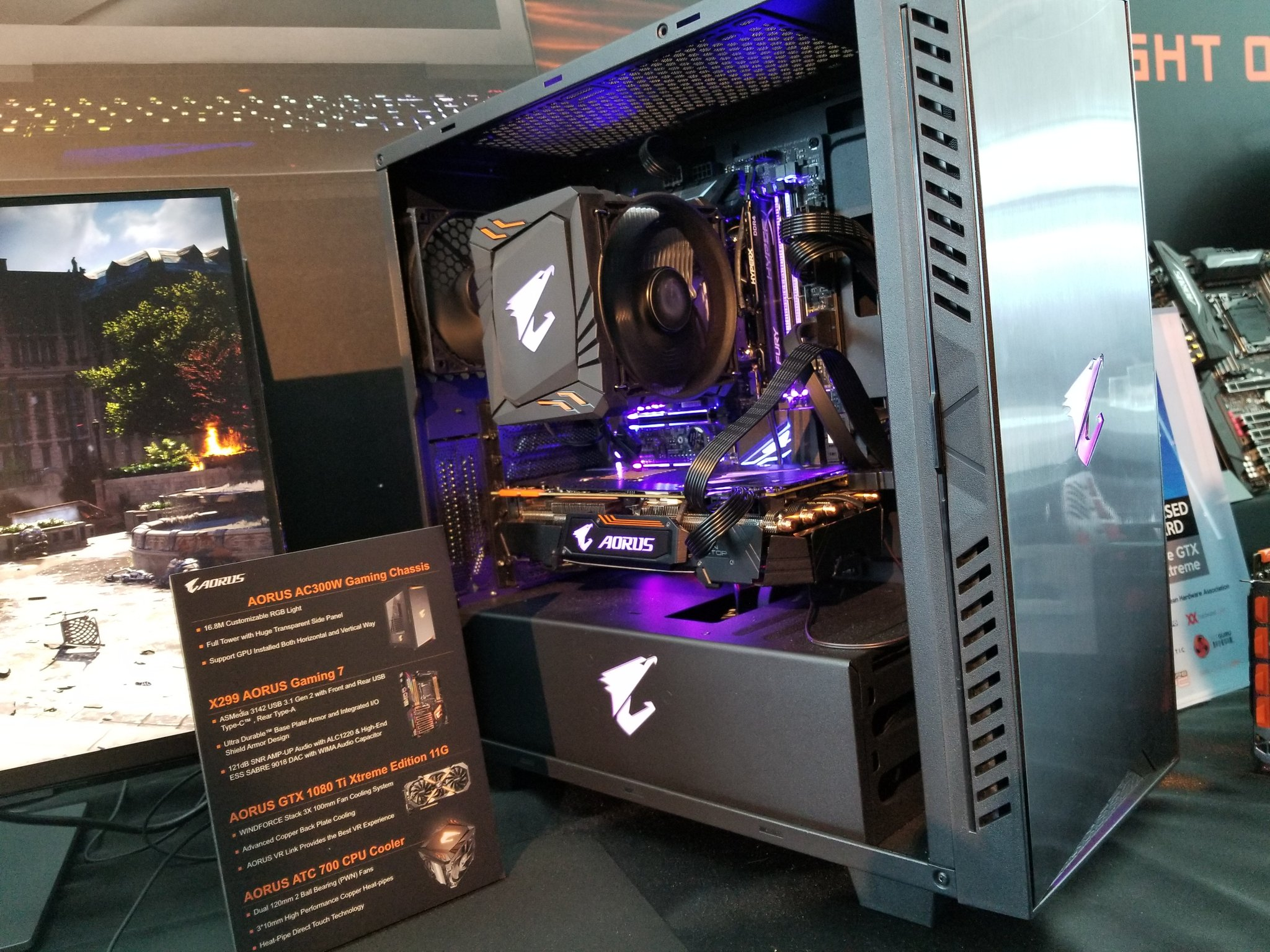 Aorus On Twitter Quot Welcome The New Aorus X299 Gaming 7