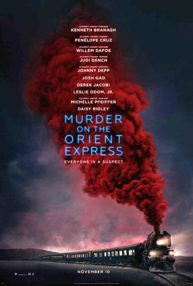 The Murder on the Orient Express Poster