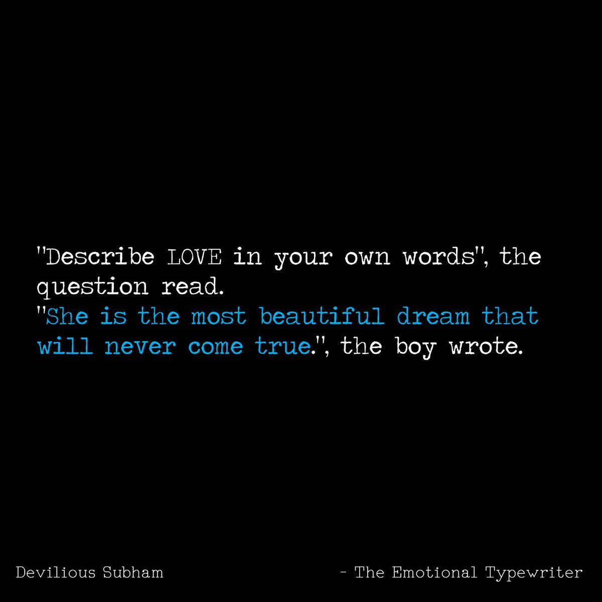 Microtale Ttt Tet Unspokenwords Sadquotes Instagood Loveisintheair Loveislove Love Words Https T Co Ksrzalb