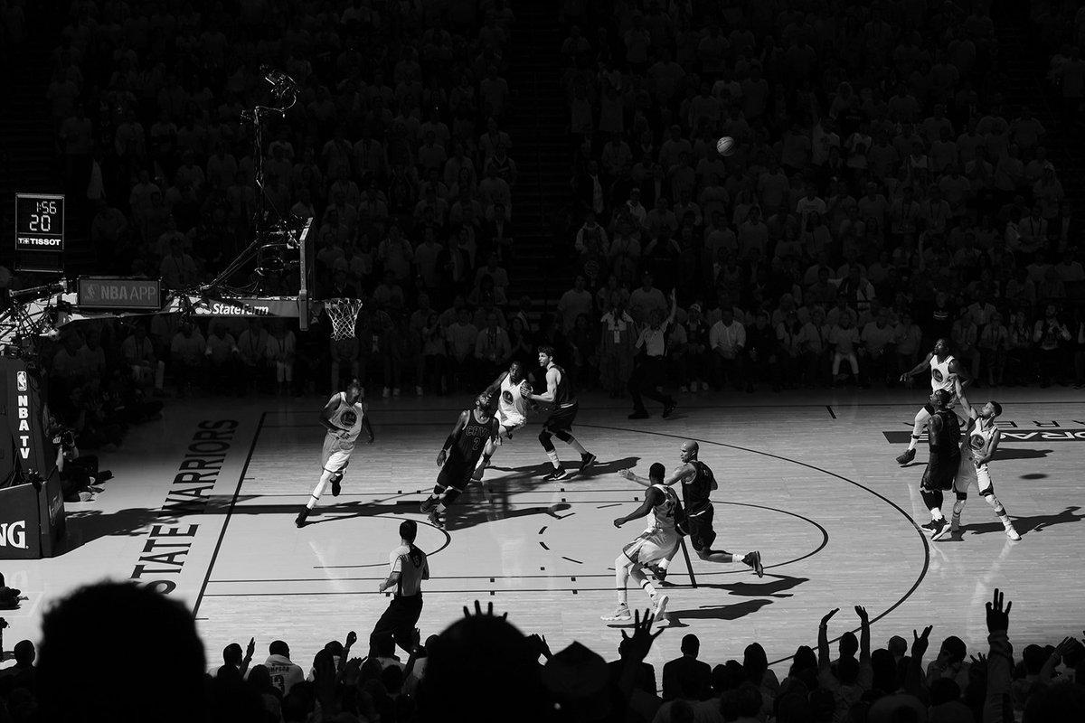 Badass Game 1 pic by Garrett Ellwood/NBAE. #NBAFinals https://t.co/aoexvsN8hI
