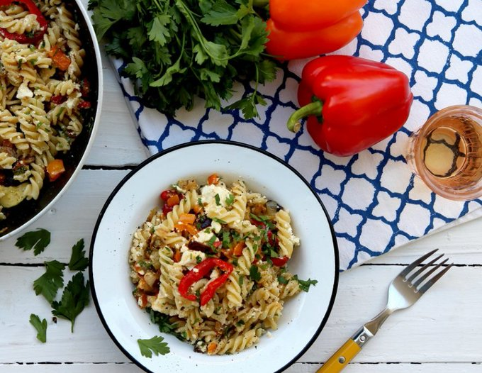 #madameginger: Ζυμαρικά με γεύση Μεσογείου