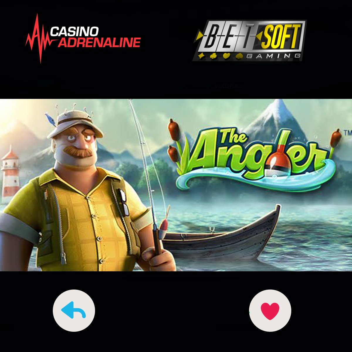 test Twitter Media - Ladies and gentlemen, we present to you The Angler video slot: https://t.co/O0P4a6F2Iy https://t.co/NkQZrbShmr