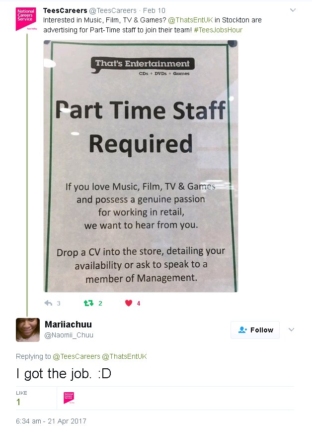 Employers looking to hire