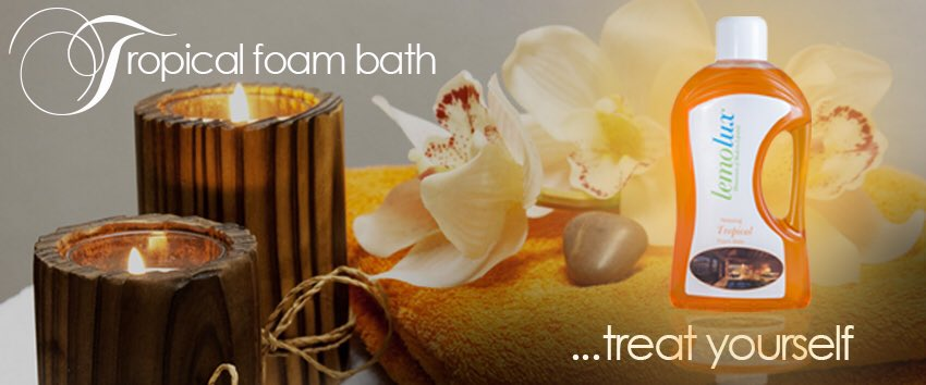 The weekend is upon us again, treat yourself to our Tropical foam bath on your off time. Have a great weekend 💁🏾
