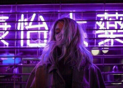 Resultado de imagem para purple hair