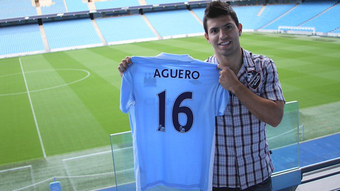 Happy 29th Birthday to Sergio Aguero.   Arguably Man City\s best ever player.