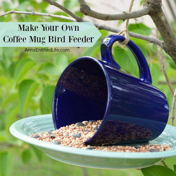 Make Your Own Coffee Mug Bird Feeder