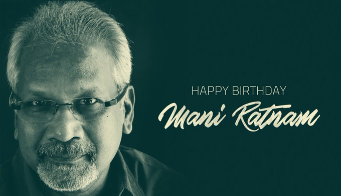 A very happy birthday to the legendary Mani Ratnam sir...