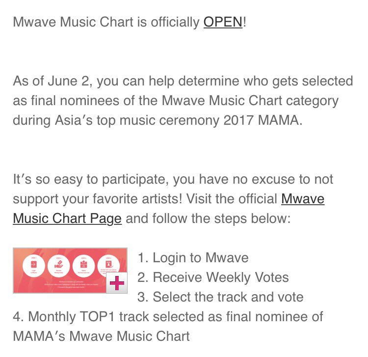 "🌎Mass Voting Team On Twitter: ""Mama 2017: Music Chart Award Army"