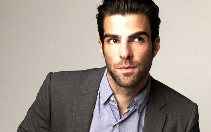 Happy 40th Birthday to Zachary Quinto! It\s a cliché but... \Live long and prosper\