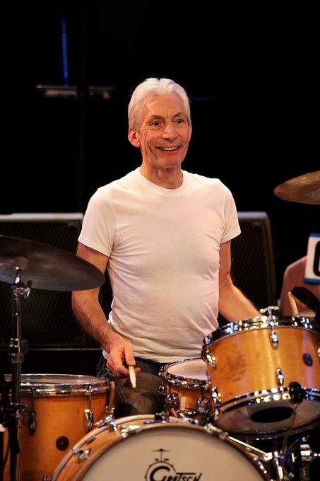 Happy birthday Charlie Watts! De drummer van The Rolling Stones viert vandaag zijn 76e verjaardag