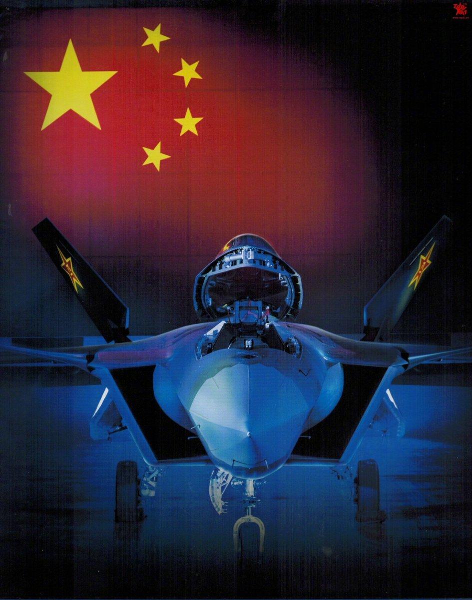 المقاتلة الصينية J-20 Mighty Dragon المولود غير الشرعي - صفحة 3 DBTxB1vUMAAWsgf
