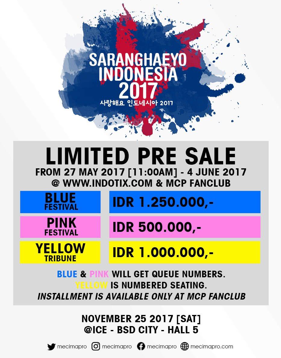 Konser Saranghaeyo Indonesia 2017 (saungkorea.com)