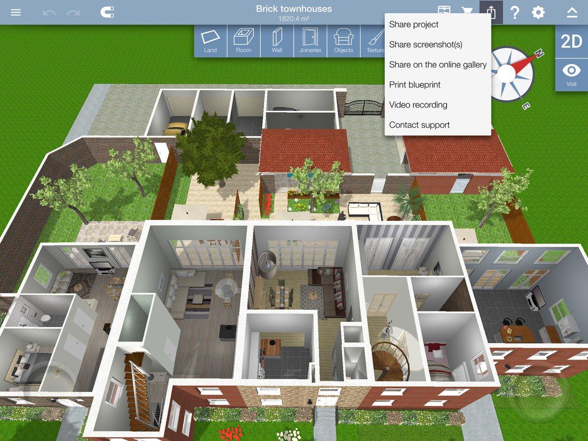 Home Design 3D homedesign3dTwitter
