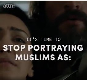 the role of media in portraying all muslims as terrorists