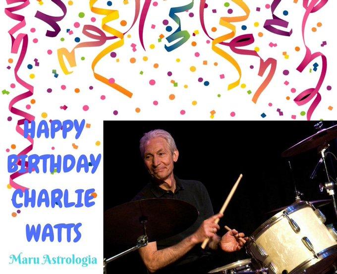 HAPPY BIRTHDAY CHARLIE WATTS!!!