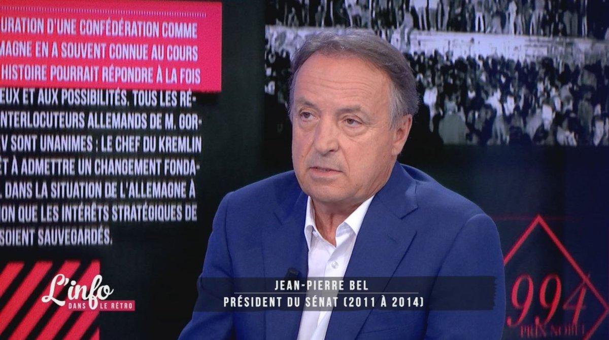 📺 #inforétro Jean-Pierre Bel : 'Les 100 jours sont devenus depuis #VGE un critère d'évaluation d'un président.'