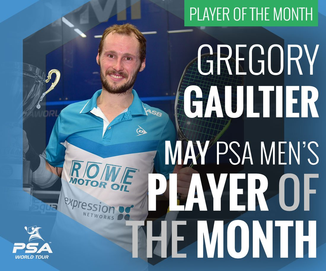 Image result for psa squash player of the month