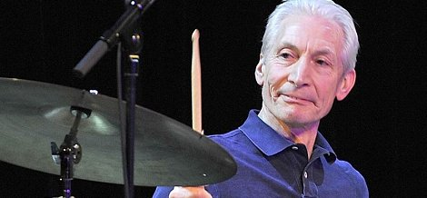 Happy Birthday to Charlie Watts, best known as drummer for The Rolling Stones (born June 2, 1941).
