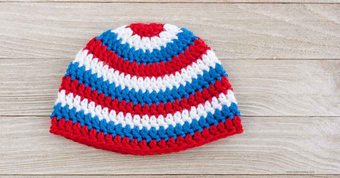 Patriotic Crochet Hat Pattern