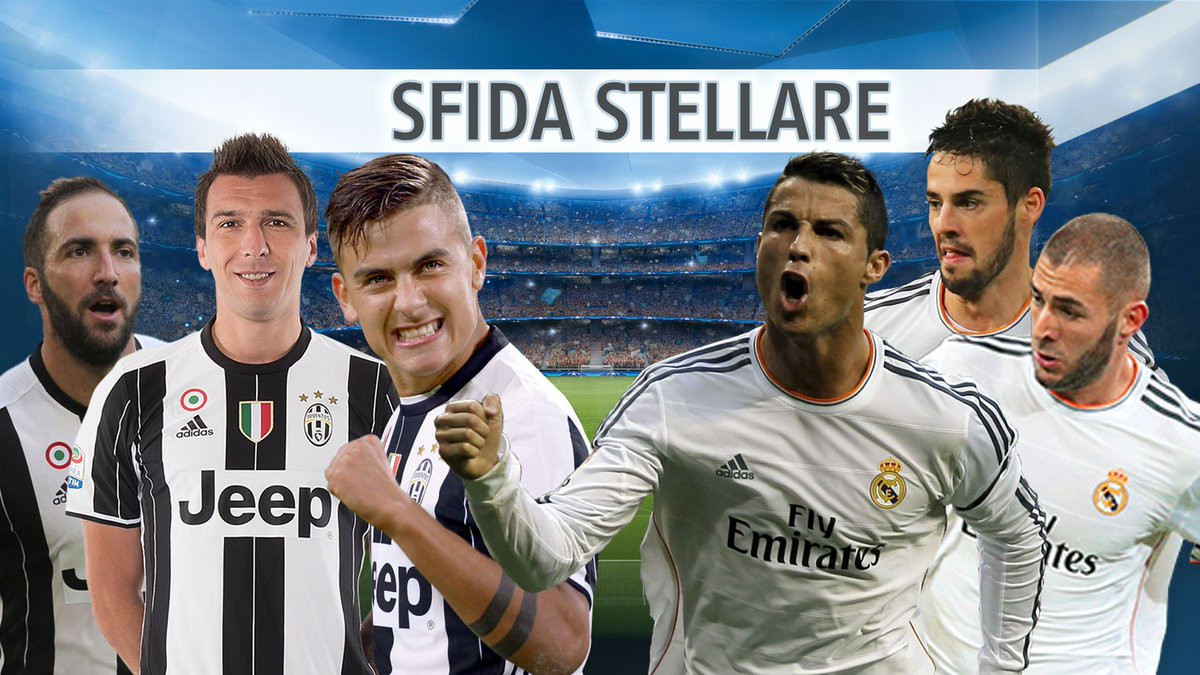 DIRETTA Calcio: Juventus-Real Madrid Streaming, Portogallo-Cipro Rojadirecta, da vedere in TV. Domani Benevento-Carpi