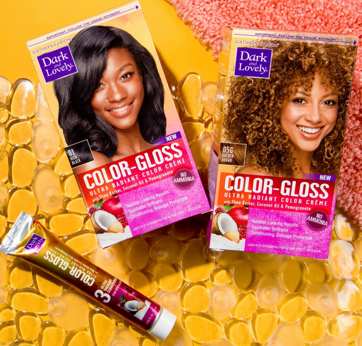 Dark And Lovely On Twitter All The Hair Color You Need Head To